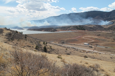 Galena Fire in Lory State Park
