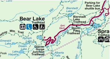 Hiking at Bear Lake Rocky Mountain National Park Colorado Two