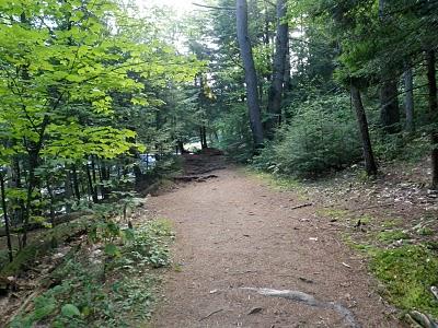 Shelving Rock Falls Trail