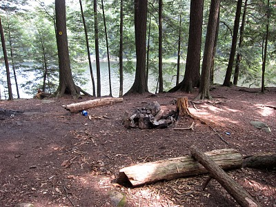 Inman Pond Camping Site