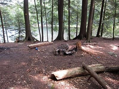 Inman Pond Camping Site