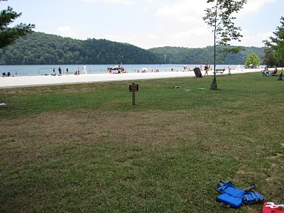Claytor Lake Beach