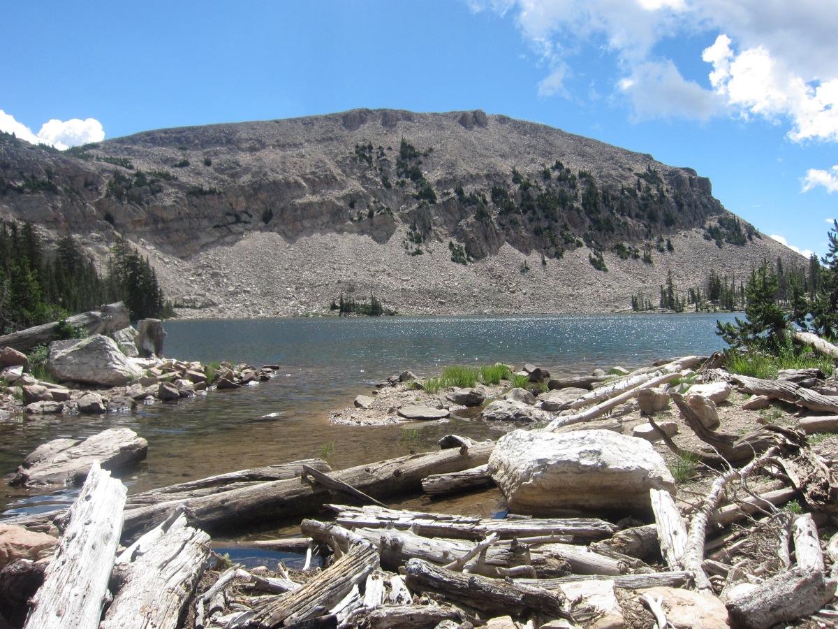 Lofty Lake Loop Trail Extended to Ruth Lake – High Uintas,Utah