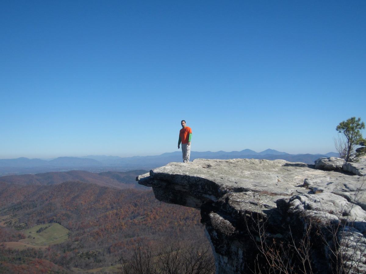 McAfee Knob – Appalachian Trail Day Hike, AT Shelters – Roanoke, VA