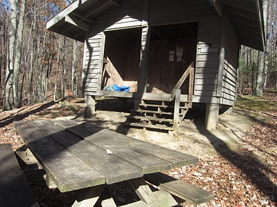 Appalachian Trail Shelter