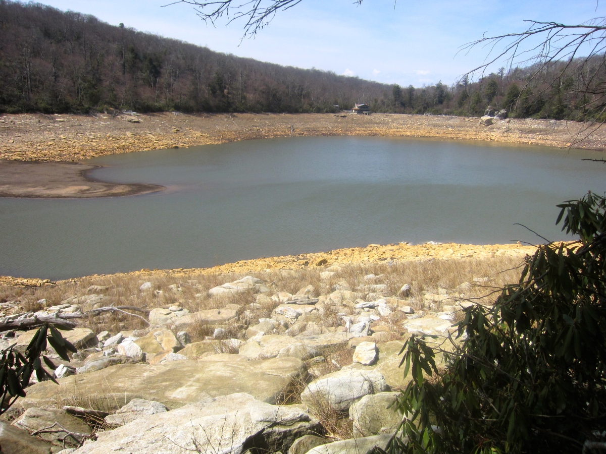 Hiking Around Mountain Lake – Trail Map, Pictures – Virginia