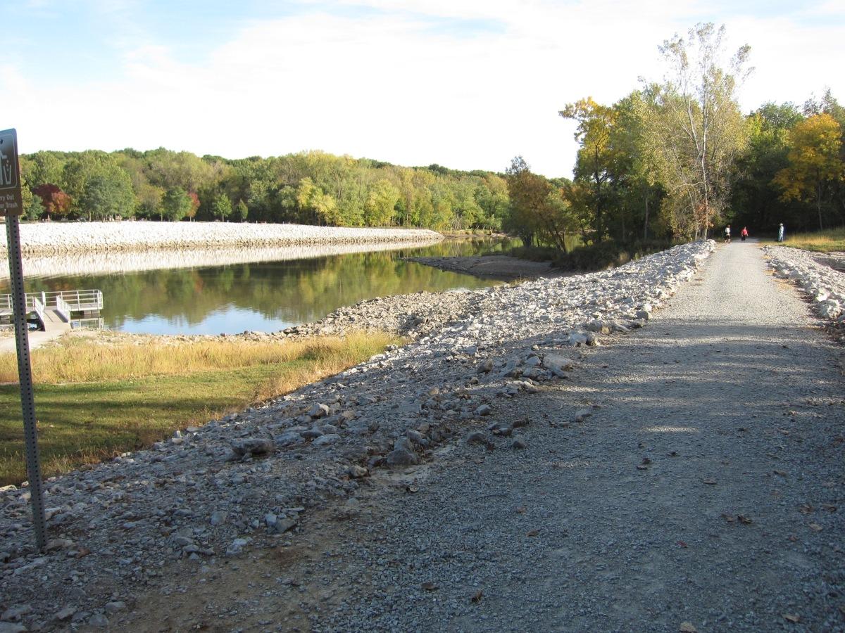 Tailwater River Walk Trail & Devonian Fossil Gorge – Iowa City,Iowa