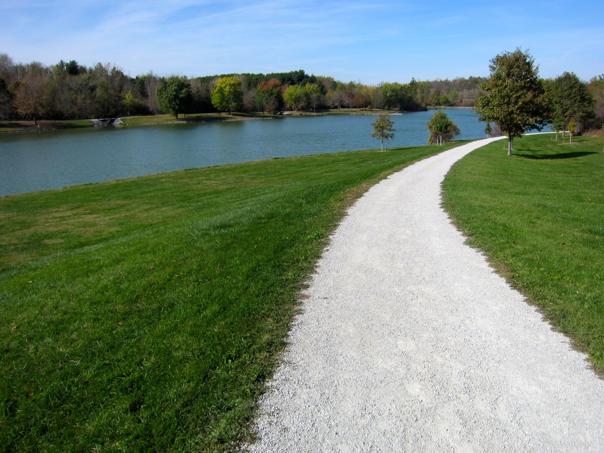 F.W. Kent Park – Trails for Biking, Hiking, Running – Iowa City, Iowa