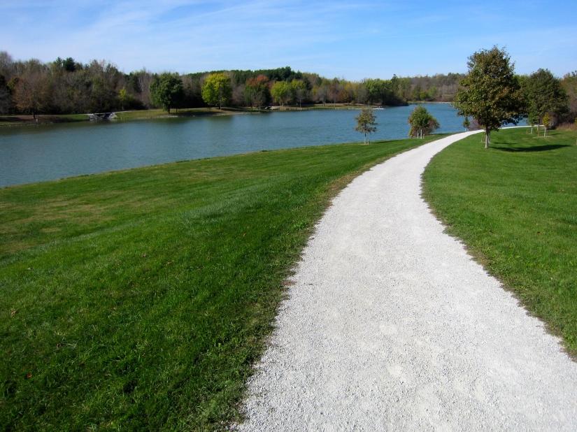 F.W. Kent Park – Trails for Biking, Hiking, Running – Iowa City,Iowa