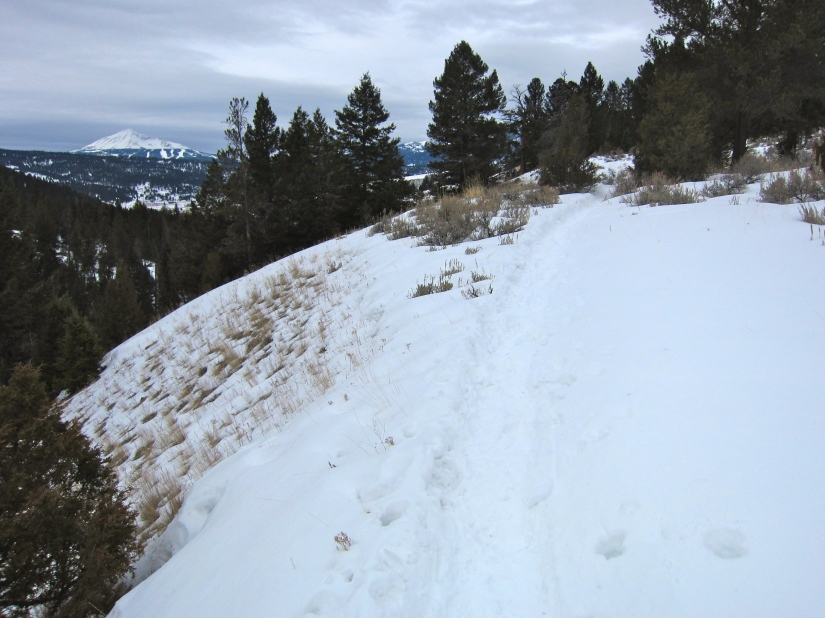 Porcupine Creek Trail – Snowshoeing – Big Sky, MT