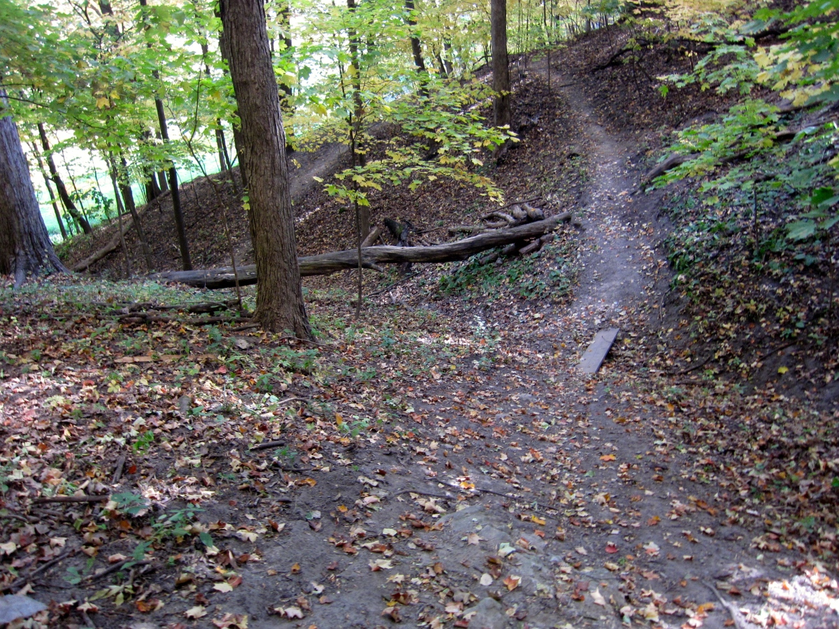 Thomas Park – Mountain Biking Trails – Marion,Iowa