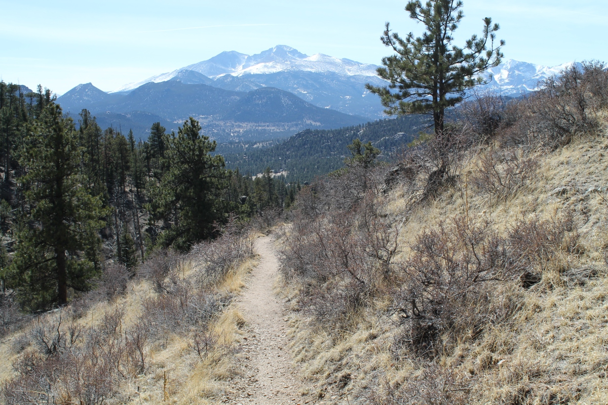 Twin Owls Loop Estes Park Co Two Knobby Tires