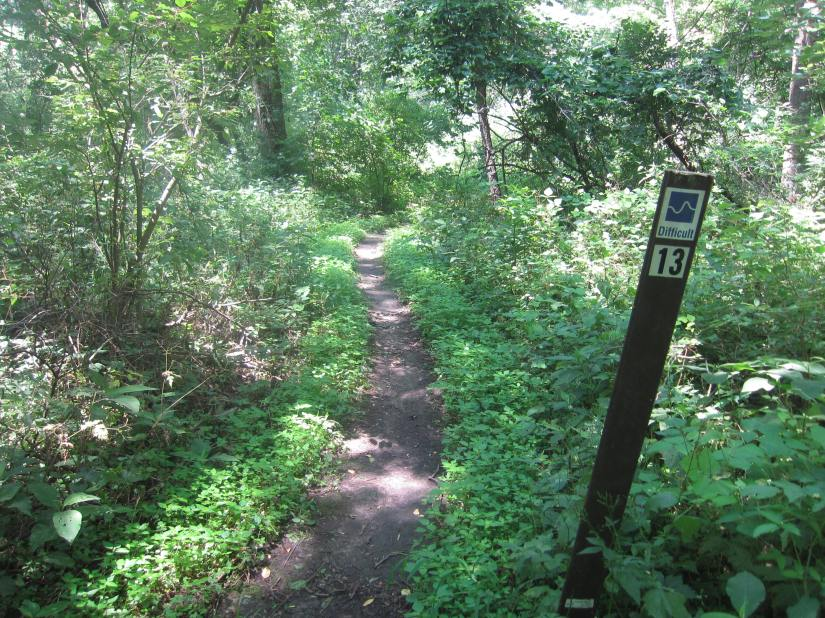 Squaw Creek Park – Mountain Biking Trails – Marion, Iowa