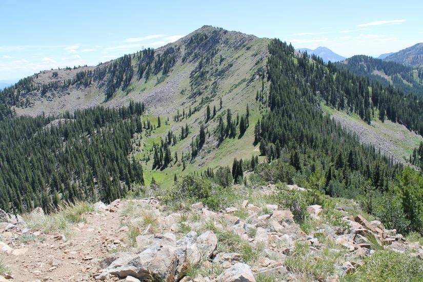 Peak 10,420 to Bloods Lake Trail – Guardsman Pass,Utah